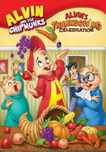 "Alvin's Thanksgiving Celebration: Alvin's Thanksgiving Celebration features four episodes: ""A Chipmunk Celebration,"" ""Food for Thought,"" ""Cookie Chomper III,"" and ""Dave's Getting Married."" The stories deal with Alvin's disappointment about not getting the part he wanted in the Thanksgiving play and sneaks in some Thanksgiving education when the boys help Theodore study for an American history test."