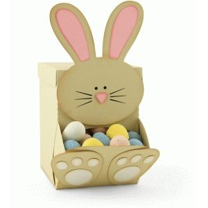 Silhouette Design Store: bunny candy dispenser