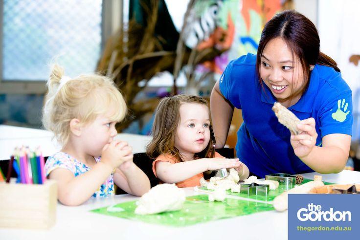 #study #childrensservices @ #thegordon   #play #fun #playdoh   #geelong #werribee   www.thegordon.edu.au/childrensservices