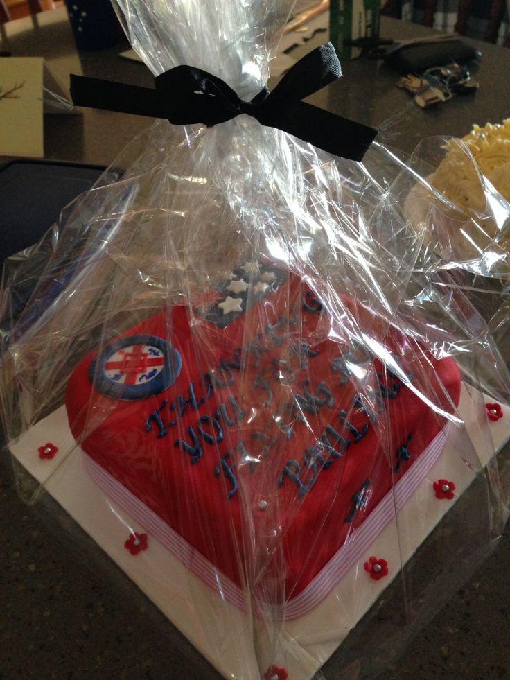 Thanking Hospital Cake
