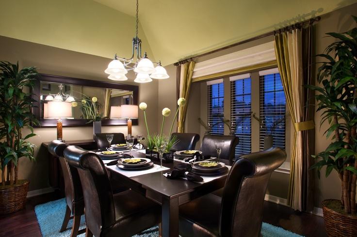Formal Dining Room Ideas by Stylecraft Builders.