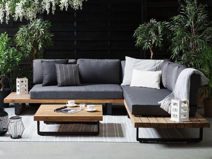 Modernes Outdoor Set Aus Akazienholz Sorgen Sie Für