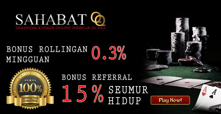 welcome to sahabatQQ and join us right now and get the bonus http://sahabatqq.casino