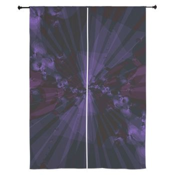Shattered in Purple Curtains by Terrella