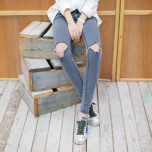Womens Clothing Store [VANILLAMINT] no.509 Jeans / Size : 25-30 / Price : 36.13 USD #dailyllook #dailyfashion #fashionitem #ootd #bottom #pants #jean #skinnyjean #vanillamint http://en.vanillamint.net/