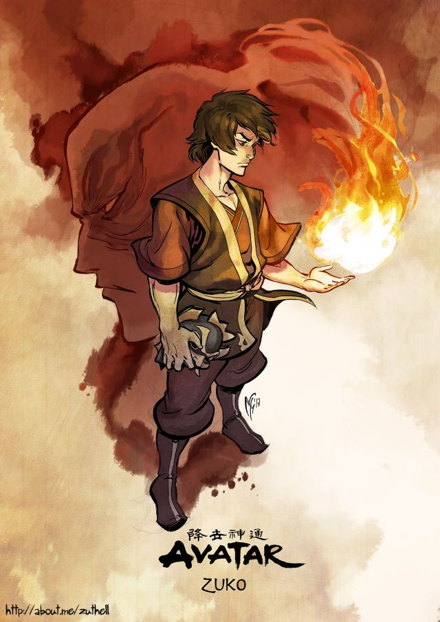 credit to the artist Avatar airbender Avatar the last