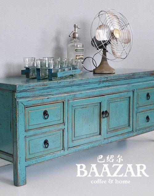 O-064-ligt-blue-kang-bänk-sideboard-hall-kina-baazar-blå-turkos-tvbänk-media-tv-sittbänk-4