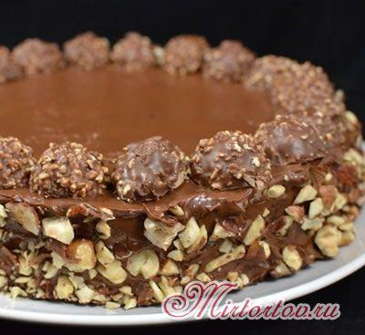 Домашний торт Фереро Роше