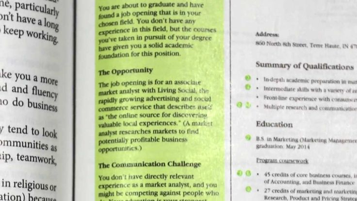 Helping Students Adapt Their Resumes to the Challenges of Today's Job Market