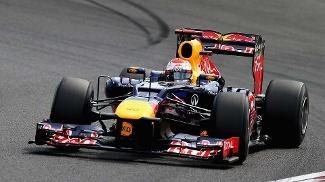 Vettel quebra sequência da McLaren e faz pole no Japão; Massa larga em 10º | Depois de quatro corridas consecutivas na temporada com uma McLaren na frente do grid, o alemão Sebastian Vettel interrompeu esta sequência e cravou a pole position para o Grande Prêmio do Japão na madrugada deste sábado. O piloto da Red Bull fez a volta mais rápida de 1min30s839 no Q3 do treino classificatório. http://mmanchete.blogspot.com.br/2012/10/vettel-quebra-sequencia-da-mclaren-e.html