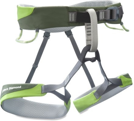 I want this harness. Stretch leg loops!