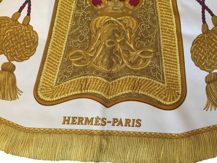 """Hermes """"Poste Et Cavalerie"""" 35"""" square Vintage silk scarf. Free shipping and guaranteed authenticity on Hermes """"Poste Et Cavalerie"""" 35"""" square Vintage silk scarfVintage Hermes silk square (35"""") scarf.   Poste Et..."""