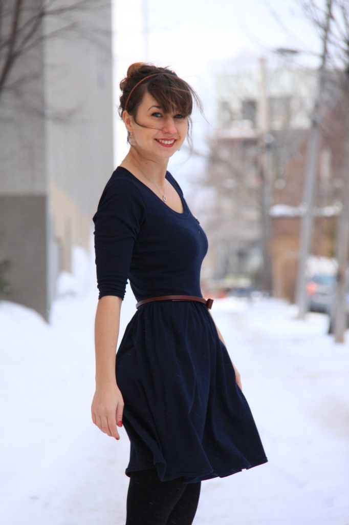 "Inspiration | Casual styling for Colette Patterns' ""Moneta"" dress"
