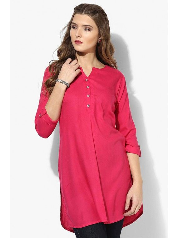 Magnificent Rose Pink Tunic