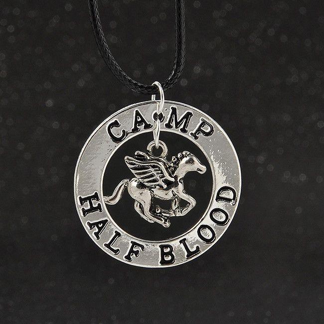 Percy Jackson Camp Half Blood Pendant Necklace <<<< NEED