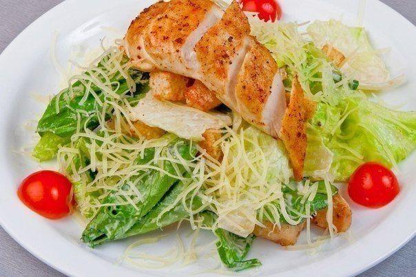 5 рецептов салата Цезарь с <span class='s_hl_ingreds'>курицей</span> варианты заправки для салата