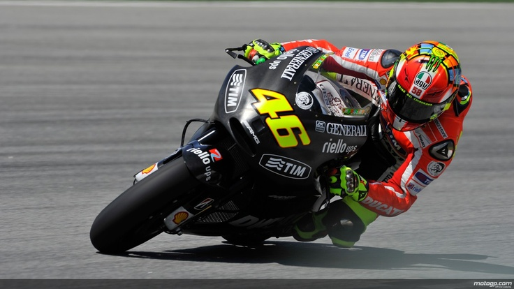 Valentino Rossi. 9-Times World Champion. February 2012 MotoGP Test 2 Sepang, Malaysia