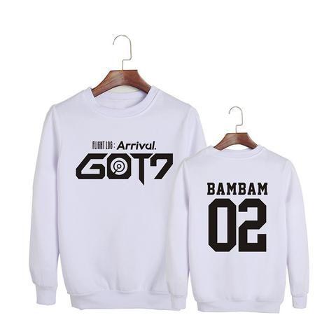 GOT7 Flight Log Arrival Bambam 02 Boy Band Cool Fashion Sweatshirt #GOT7 #FlightLog #Arrival #Bambam #BoyBand #Cool #Fashion #Sweatshirt #KIDOLSTUFF #KPOP