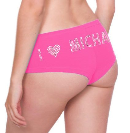 Personalized Rhinestone Panties - Lingerie Shower, Bachelorette Party, Bridal Shower Gift on Etsy, $19.99