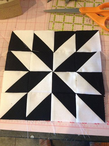 """""""half square triangle blocks - Google Search Inspiration for First practice of quilting on my new sewing machine"""""""