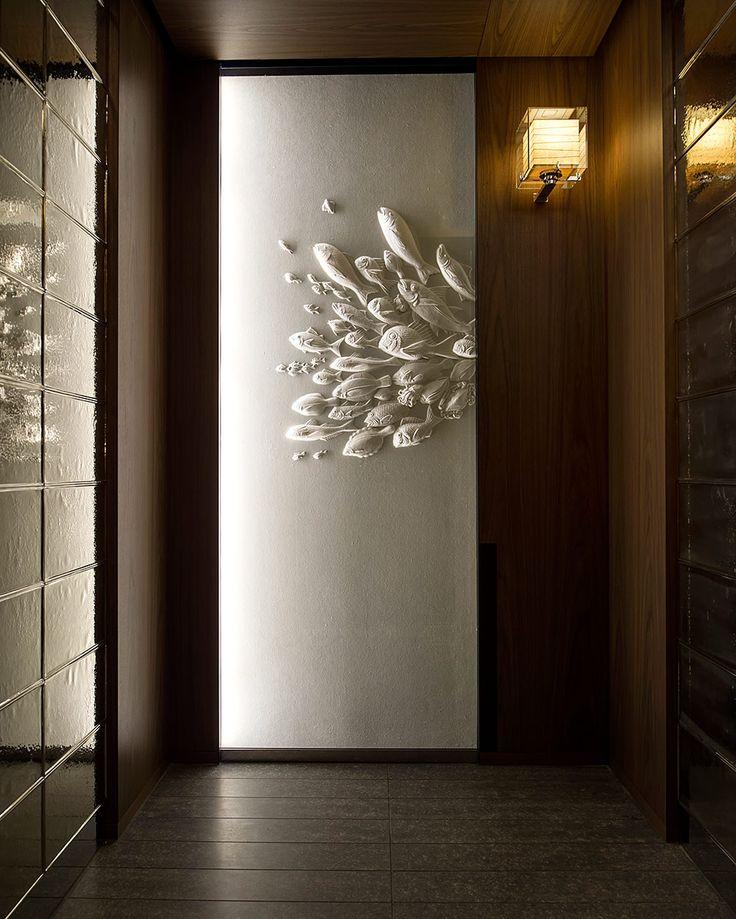 Los diseñadores incorporaron arte en papel washi para los toques decorativos. | Galería de fotos 5 de 21 | AD MX