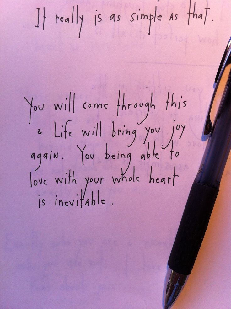 Yes. Yes. Yes. Because love is inevitable when you invite it in...from brian andreas
