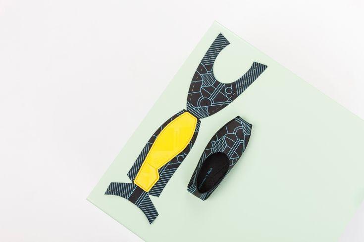 Pikkpack X Supermundane flat pack diy leather shoes on designboom