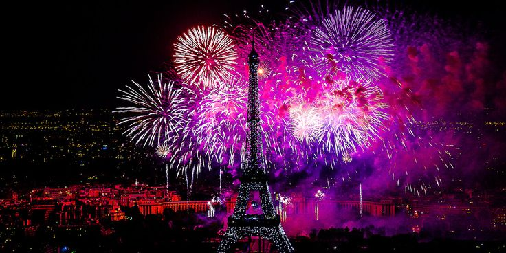 Bastille Day in Paris photo