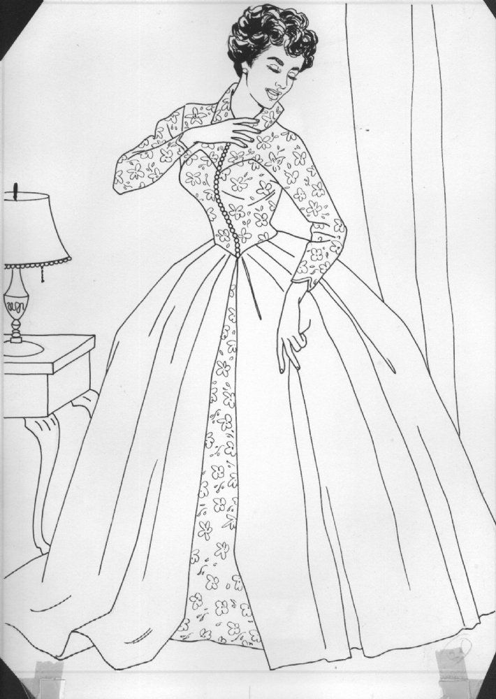 Comic Art For Sale From Anthonys Comicbook Elizabeth Taylor Coloring Book