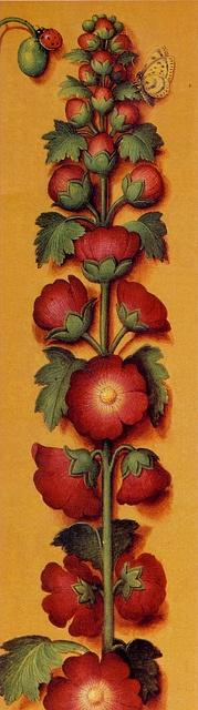 Marque-page, 1503-1508 - Détail tiré des Grandes Heures d'Anne de Bretagne - Enluminures de Jean Bourdichon