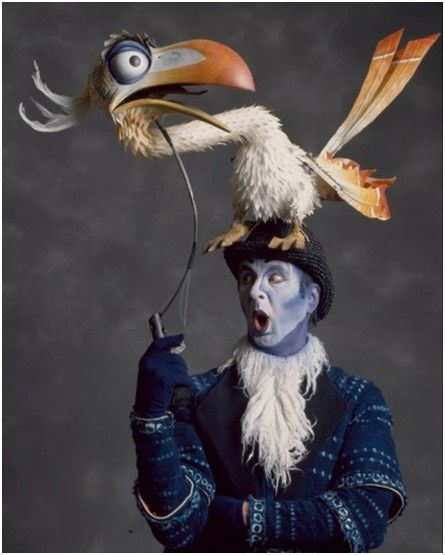 Zazu from ''The Lion King'' musical, actor - Geoff Hoyle