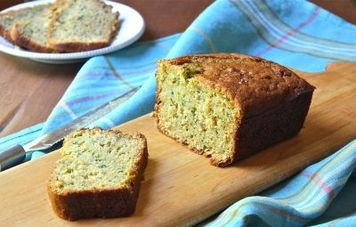 Mountain Baking: Rustic Zucchini Bread with Brown Rice