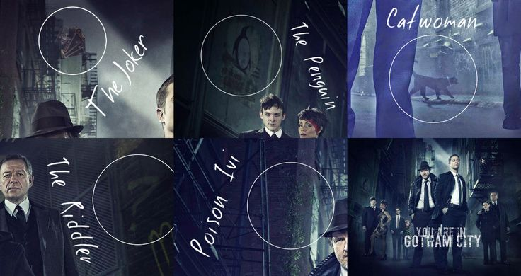 Easter Eggs of the new photo to 'Gotham'
