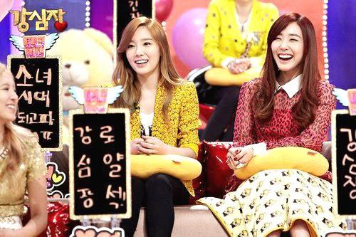 Taeyeon & Tiffany SNSD
