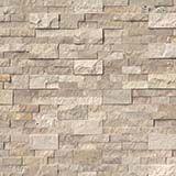 roman beige stacked stone panels