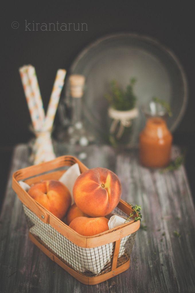 ... Peach Month! on Pinterest | Peach salsa, Peach trifle and Cream
