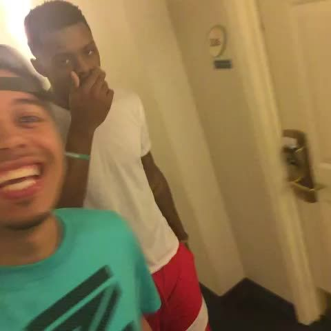 Hotel prank before I leave Texas this dude Chaz Williams took off!!! Video Thumnbail