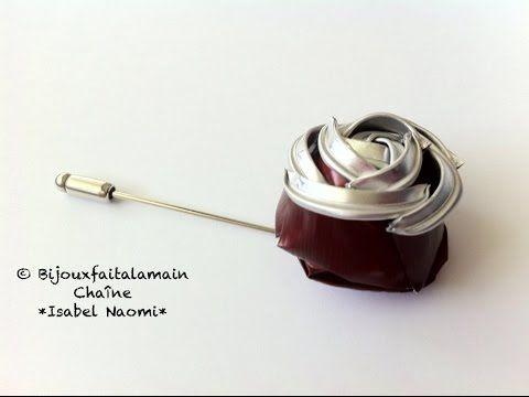 DIY Nespresso: How to make a Nespresso Rose brooch - YouTube