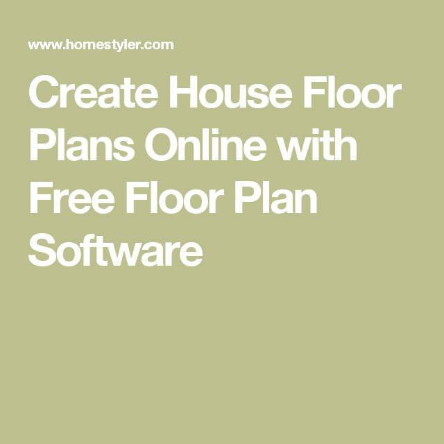1000 Ideas About Floor Plans Online On Pinterest House