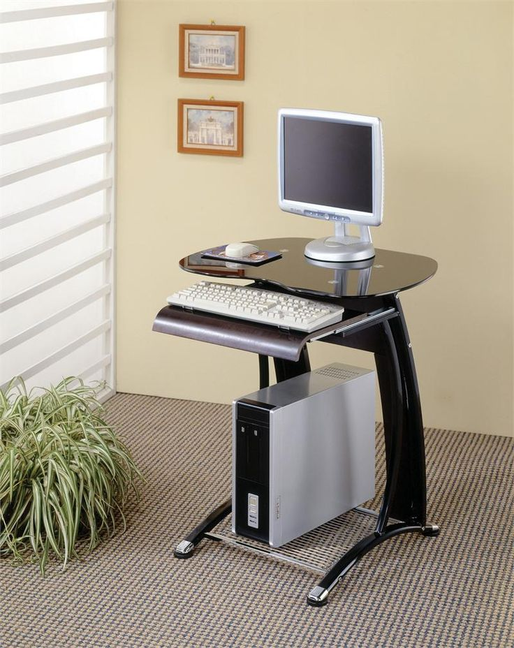 best 25 small computer desks ideas on pinterest space saving desk desk for computer and. Black Bedroom Furniture Sets. Home Design Ideas