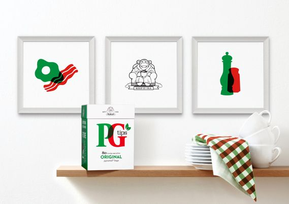 Creative Review - PG Tips' refreshing rebrand