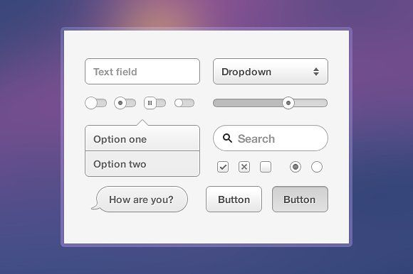 Helvetinut UI Kit by brtdv on @creativemarket