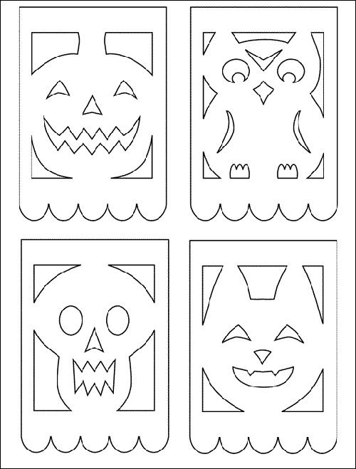 Free Halloween Printable Banner, Favor boxes and More