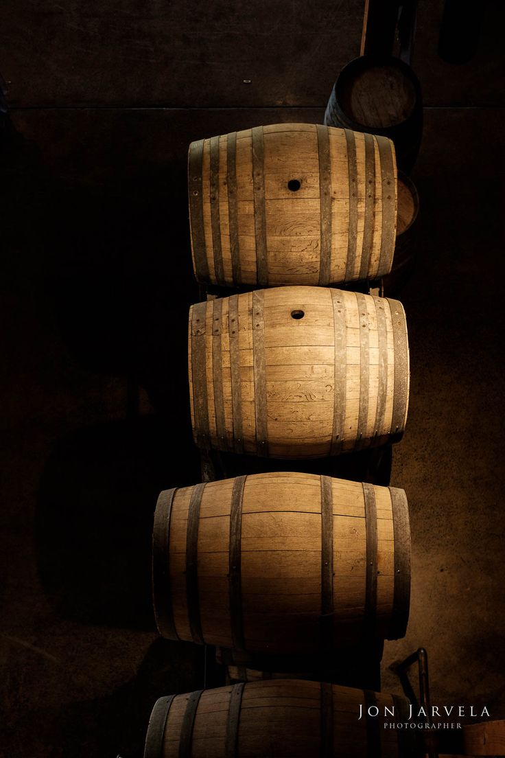 Wine Barrels | Frogmore Creek | Jon Jarvela Photography #winery #vintage