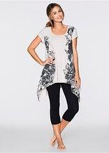 Piżama ze spodniami 3/4 Z asymetryczną • 54.99 zł • bonprix