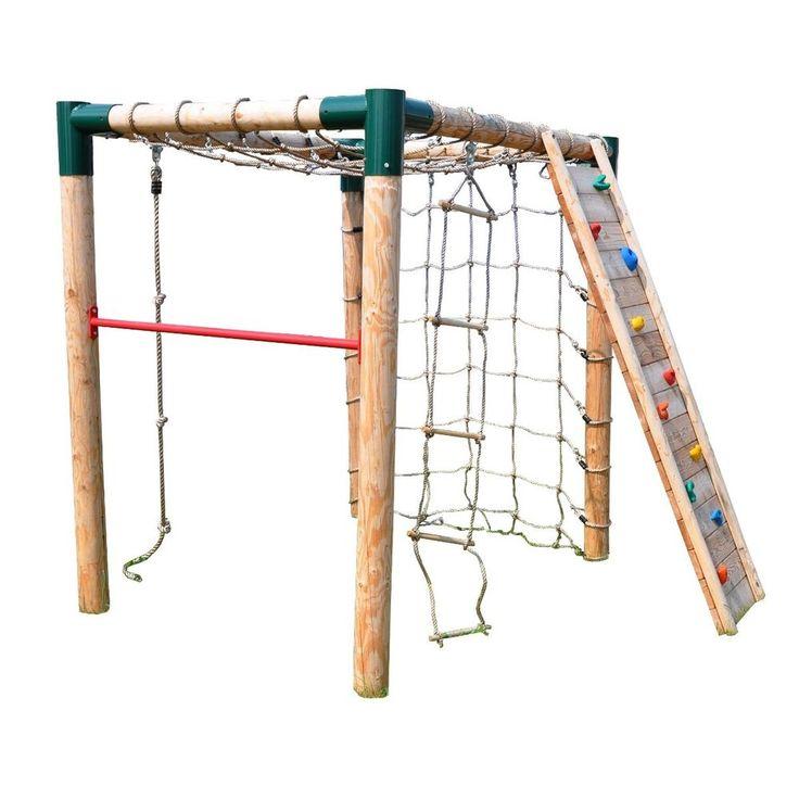 Klettergerüst Kletterturm Kletternetz Kletterseil Strickleiter Kletterwand Reck in Spielzeug, Spielzeug für draußen, Spieltürme & Schaukeln | eBay
