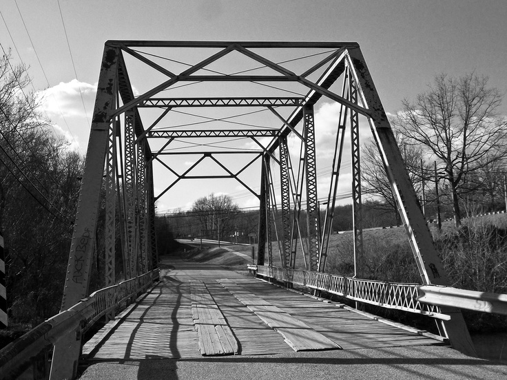 A old bridge in Bedford Indiana.