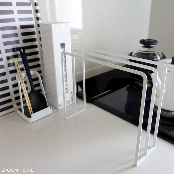 おしゃれなキッチンふきん掛けのブログ画像 キッチン キッチン おしゃれ 収納 セリア