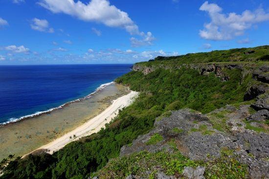Fangatave Beach Cliffs - Eua, Tonga