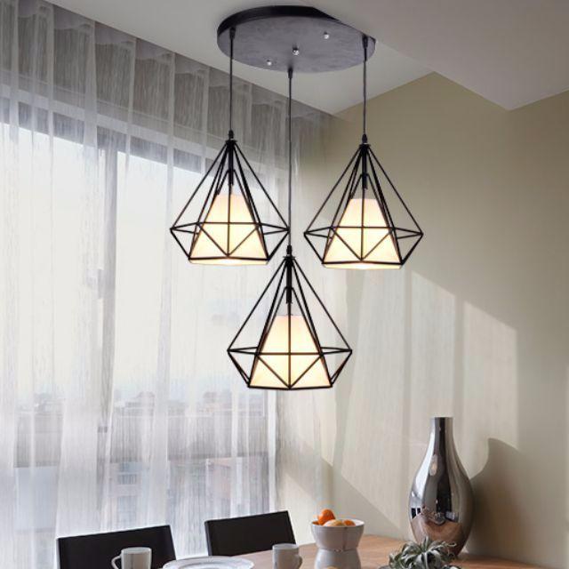 Geometric Diamond Scandinavian LED Pendant Lamp